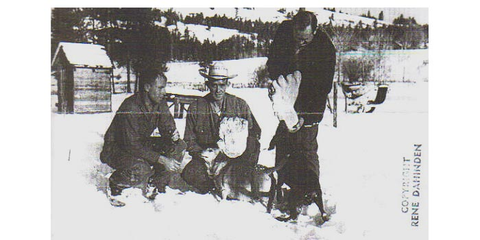 Rene Dahinden, Don Byington, and Ivan Marx