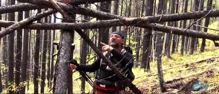 Bigfoot tree structures survivorman