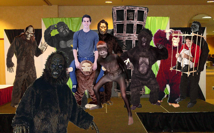 bigfoot costume pageant