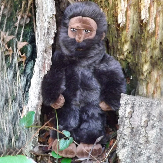 sasquatch doll plush
