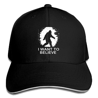 bigfoot hat black silhouette