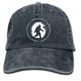bigfoot hat denim silhouette blue