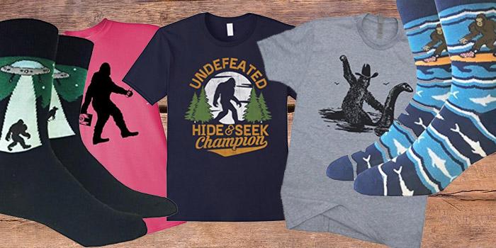 bigfoot shirts hats