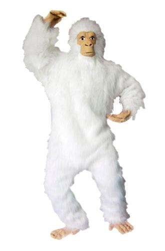 yeti costume white gorilla