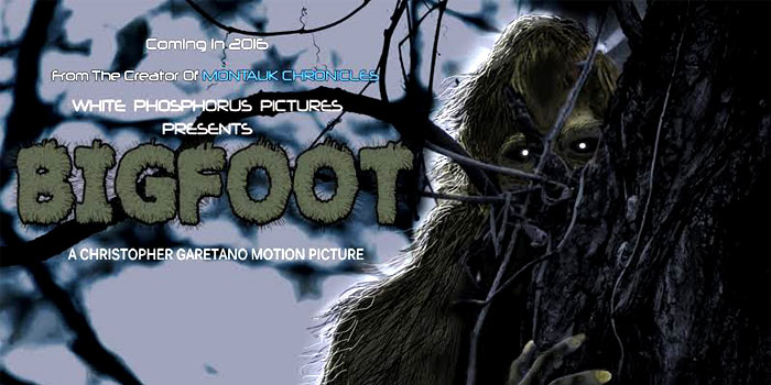 Bigfoot docudrama poster