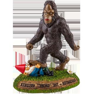 bigfoot statue right