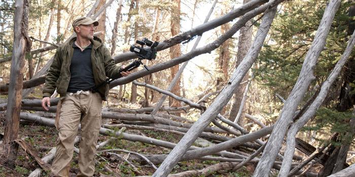 survivorman bigfoot woods
